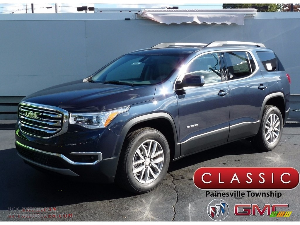 2018 GMC Acadia SLE AWD in Blue Steel Metallic - 148767 ...