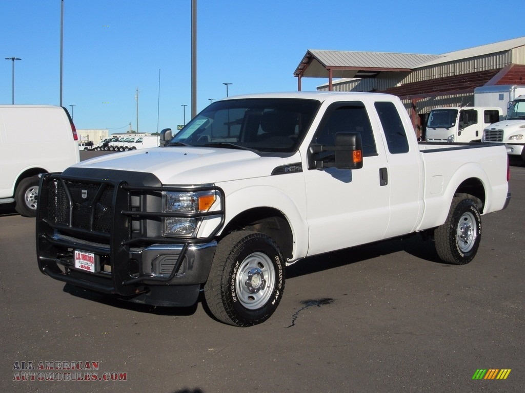 2013 ford f250 super duty xl supercab 4x4 in oxford white b35991 all american automobiles. Black Bedroom Furniture Sets. Home Design Ideas
