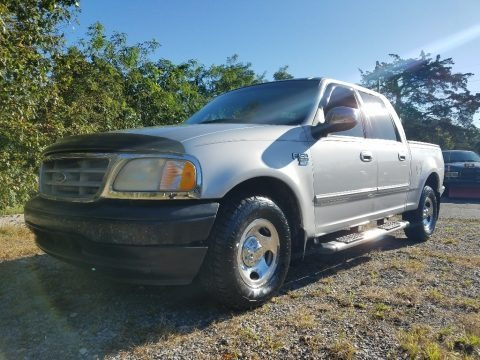 Silver Metallic 2001 Ford F150 XLT SuperCrew