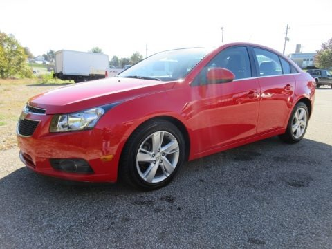 Red Hot 2014 Chevrolet Cruze Diesel