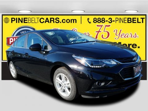 Mosaic Black Metallic 2018 Chevrolet Cruze LT