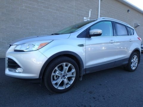 Ingot Silver Metallic 2015 Ford Escape Titanium 4WD