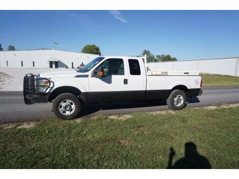 Oxford White 2011 Ford F250 Super Duty XL SuperCab 4x4