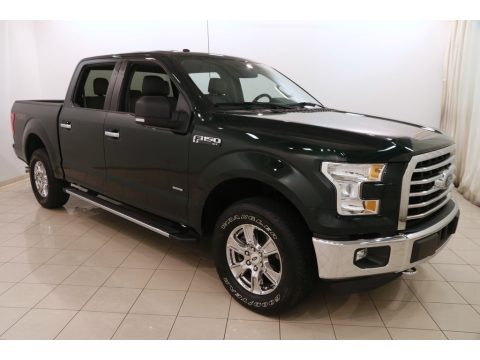 Green Gem Metallic 2015 Ford F150 XLT SuperCrew 4x4