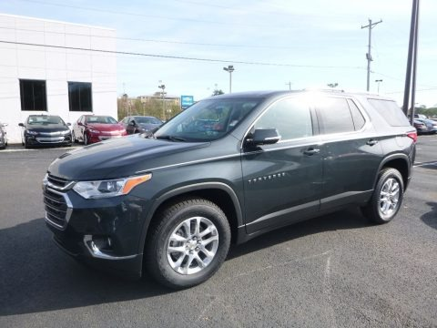 Graphite Metallic 2018 Chevrolet Traverse LT AWD