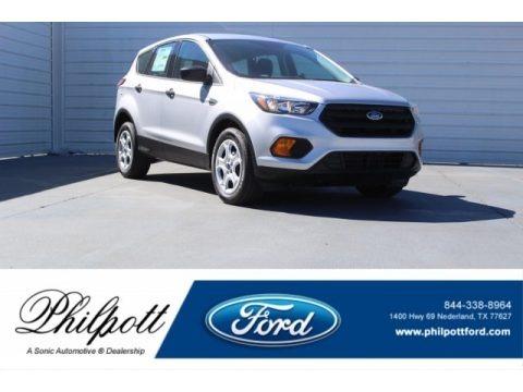 Ingot Silver 2018 Ford Escape S