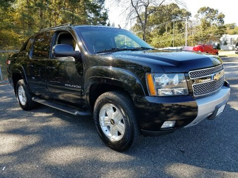 Black 2013 Chevrolet Avalanche LT 4x4 Black Diamond Edition