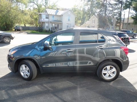 Nightfall Gray Metallic 2017 Chevrolet Trax LT AWD
