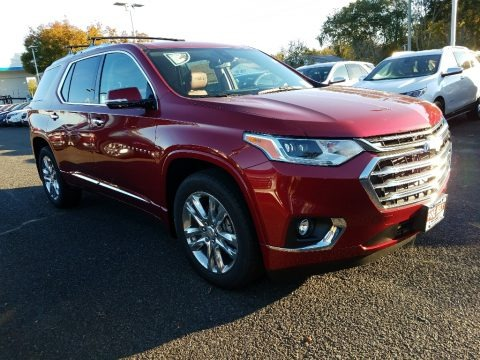 Cajun Red Tintcoat 2018 Chevrolet Traverse High Country AWD