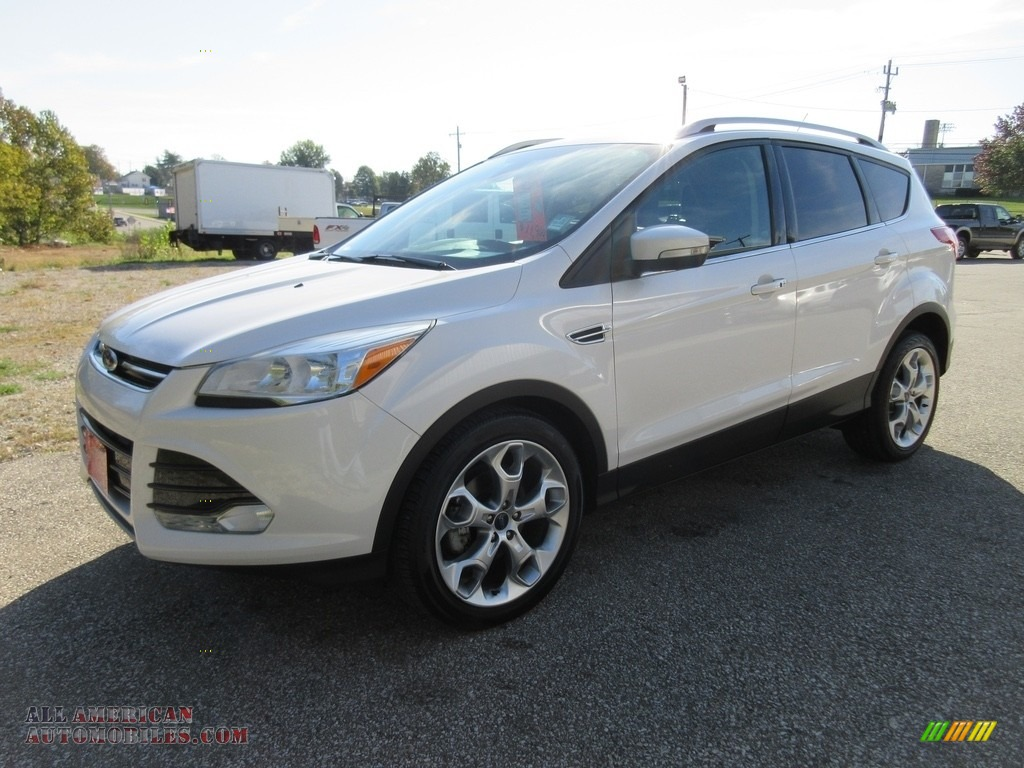 2014 ford escape titanium 1 6l ecoboost in white platinum c20427 all american automobiles. Black Bedroom Furniture Sets. Home Design Ideas