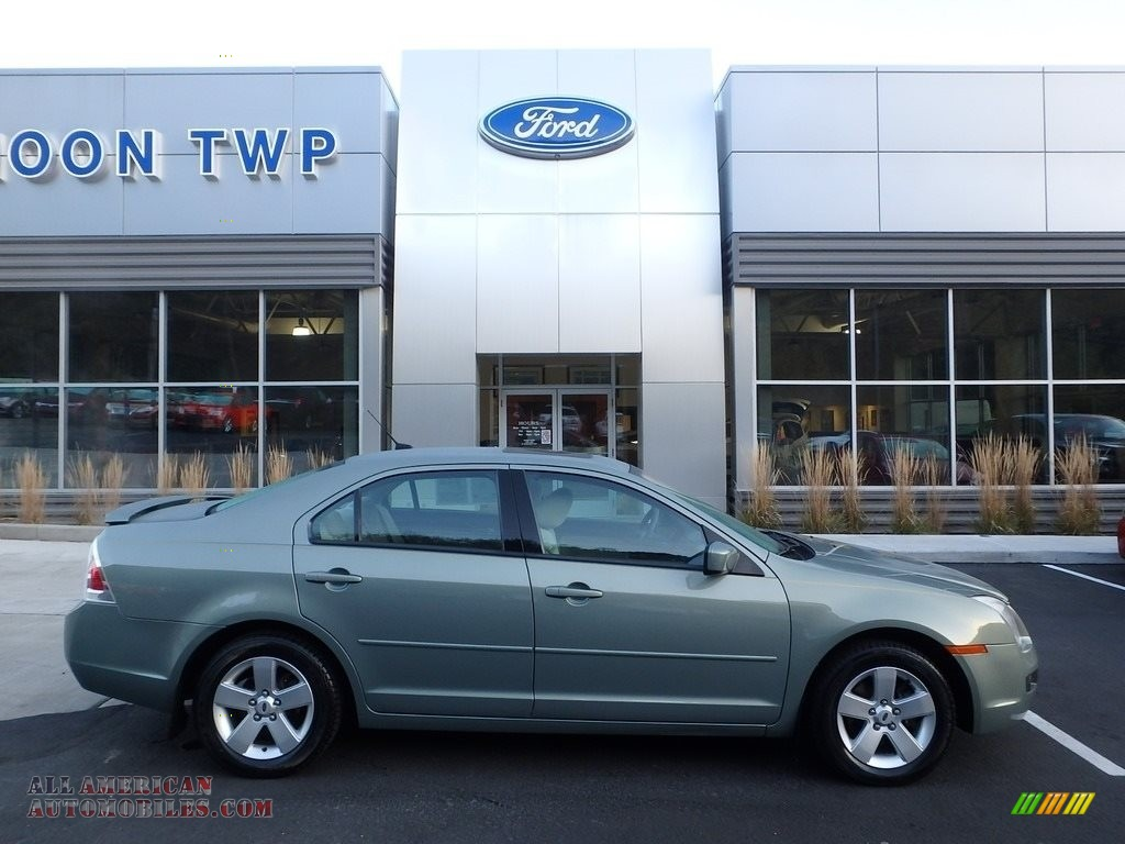 2009 ford fusion se v6 in moss green metallic 169152 all american automobiles buy american. Black Bedroom Furniture Sets. Home Design Ideas