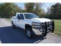 Chevrolet Silverado 2500HD Work Truck Extended Cab 4x4 Summit White photo #37