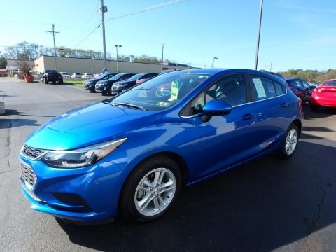 Kinetic Blue Metallic 2017 Chevrolet Cruze LT