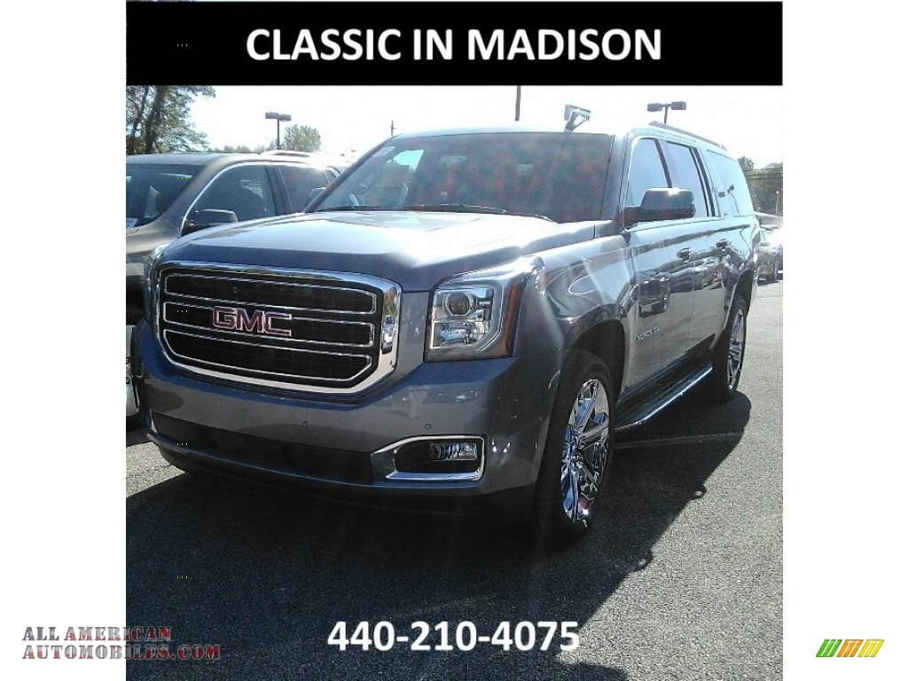 2018 Gmc Yukon Xl Slt 4wd In Satin Steel Metallic 150888 All American Automobiles Buy American Cars For Sale In America