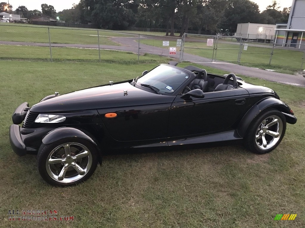 2000 Prowler Roadster - Prowler Black / Agate photo #3