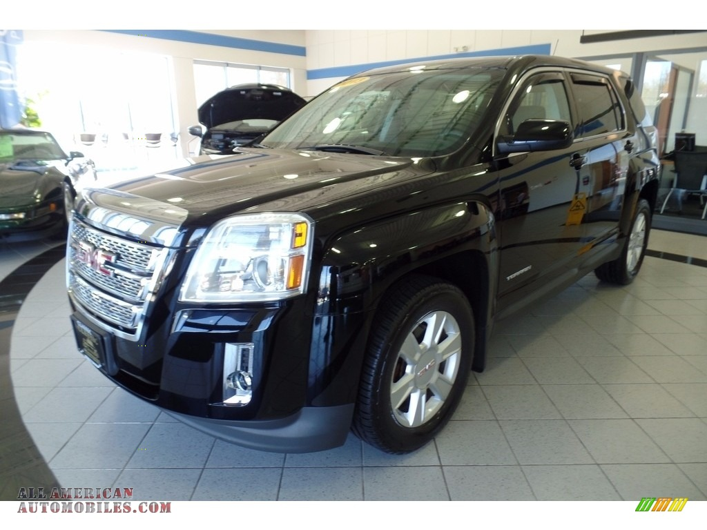 2013 gmc terrain sle awd in onyx black 286594 all american automobiles buy american cars. Black Bedroom Furniture Sets. Home Design Ideas