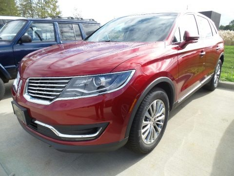 Ruby Red Metallic 2018 Lincoln MKX Select