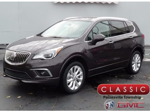Midnight Amethyst Metallic 2018 Buick Envision Premium II AWD