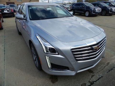 Radiant Silver Metallic 2018 Cadillac CTS Luxury AWD