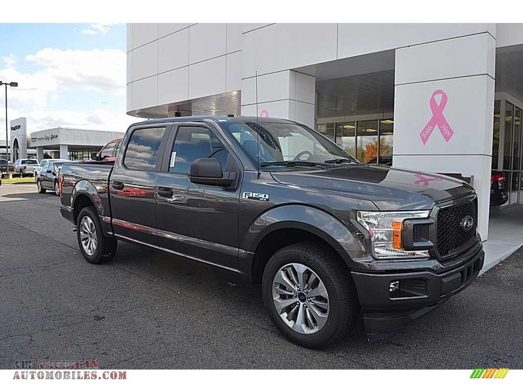 2018 ford f150 stx supercrew in magnetic a87533 all american automobiles buy american cars. Black Bedroom Furniture Sets. Home Design Ideas