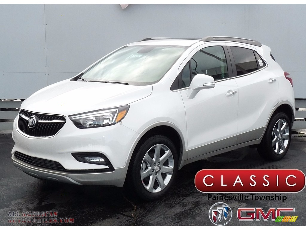 2018 buick encore preferred ii awd in white frost tricoat for sale 518737 all american. Black Bedroom Furniture Sets. Home Design Ideas