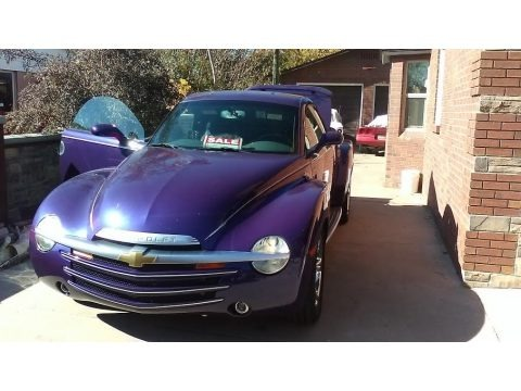 Ultra Violet Blue Metallic 2004 Chevrolet SSR