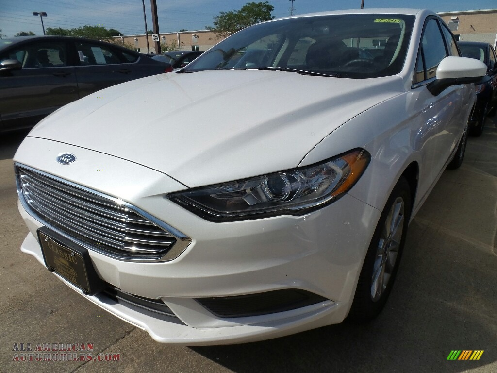 2017 ford fusion se in white platinum 364998 all american automobiles buy american cars. Black Bedroom Furniture Sets. Home Design Ideas
