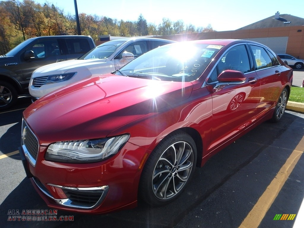 2017 MKZ Reserve AWD - Ruby Red / Ebony photo #1