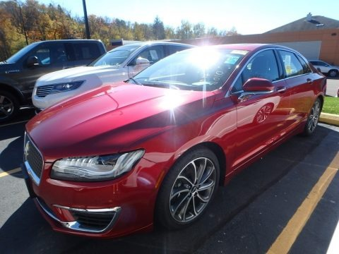 Ruby Red 2017 Lincoln MKZ Reserve AWD