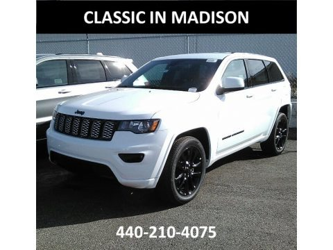 Bright White 2018 Jeep Grand Cherokee Laredo 4x4