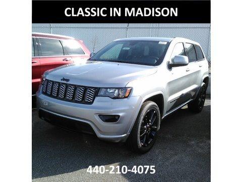 Billet Silver Metallic 2018 Jeep Grand Cherokee Laredo 4x4