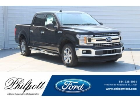 Shadow Black 2018 Ford F150 XLT SuperCrew