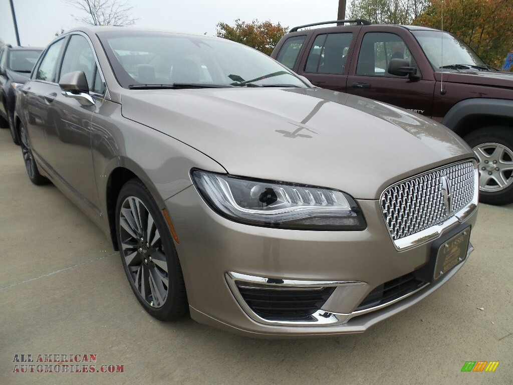 2018 MKZ Reserve AWD - Iced Mocha Metallic / Cappuccino photo #1