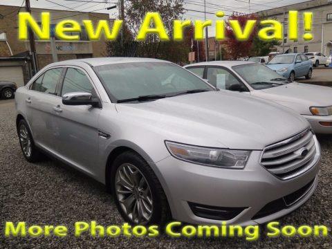 Ingot Silver Metallic 2013 Ford Taurus Limited
