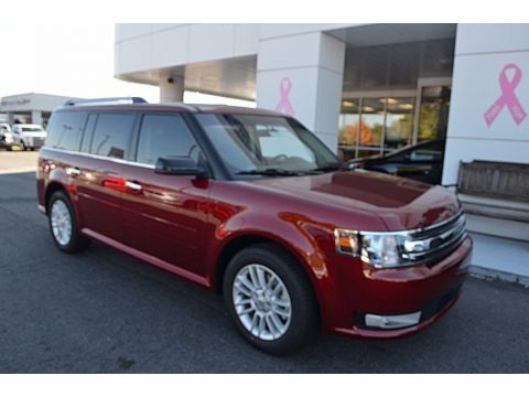 Ruby Red 2018 Ford Flex SEL