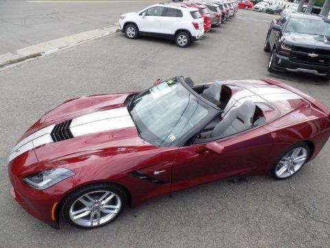 Long Beach Red Metallic Tintcoat 2018 Chevrolet Corvette Stingray Convertible