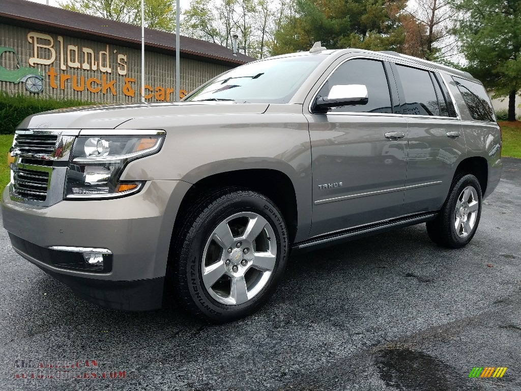 2017 chevrolet tahoe premier 4wd in pepperdust metallic 163088 all american automobiles. Black Bedroom Furniture Sets. Home Design Ideas