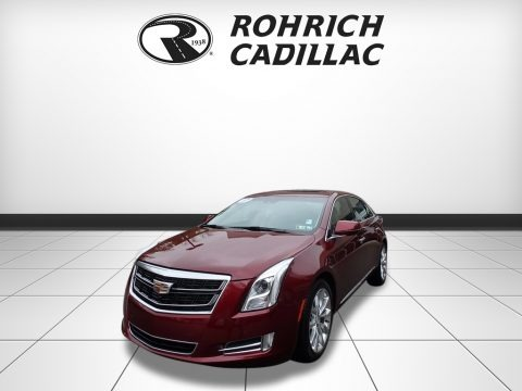 Red Passion Tintcoat 2017 Cadillac XTS Luxury AWD