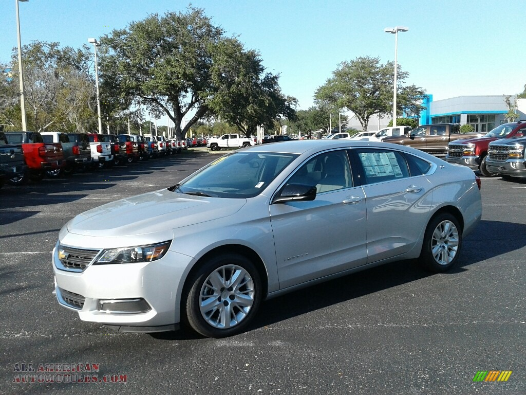 2017 chevrolet impala ls in silver ice metallic 189521 all american automobiles buy. Black Bedroom Furniture Sets. Home Design Ideas