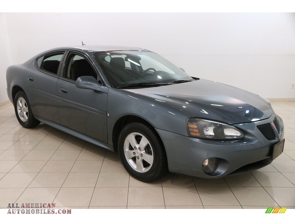 2007 Grand Prix Sedan - Stealth Gray Metallic / Ebony photo #1