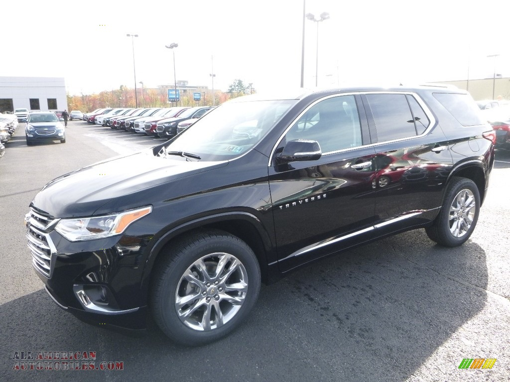 2018 Chevrolet Traverse High Country Awd In Mosaic Black Metallic 147522 All American