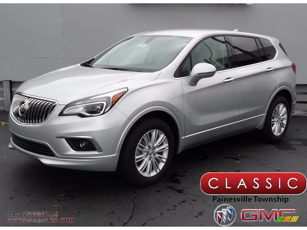 Galaxy Silver Metallic / Light Neutral Buick Envision Preferred AWD