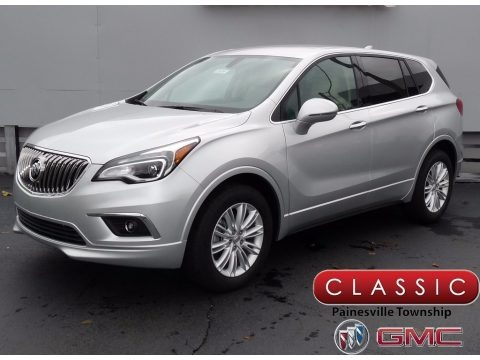 Galaxy Silver Metallic 2018 Buick Envision Preferred AWD
