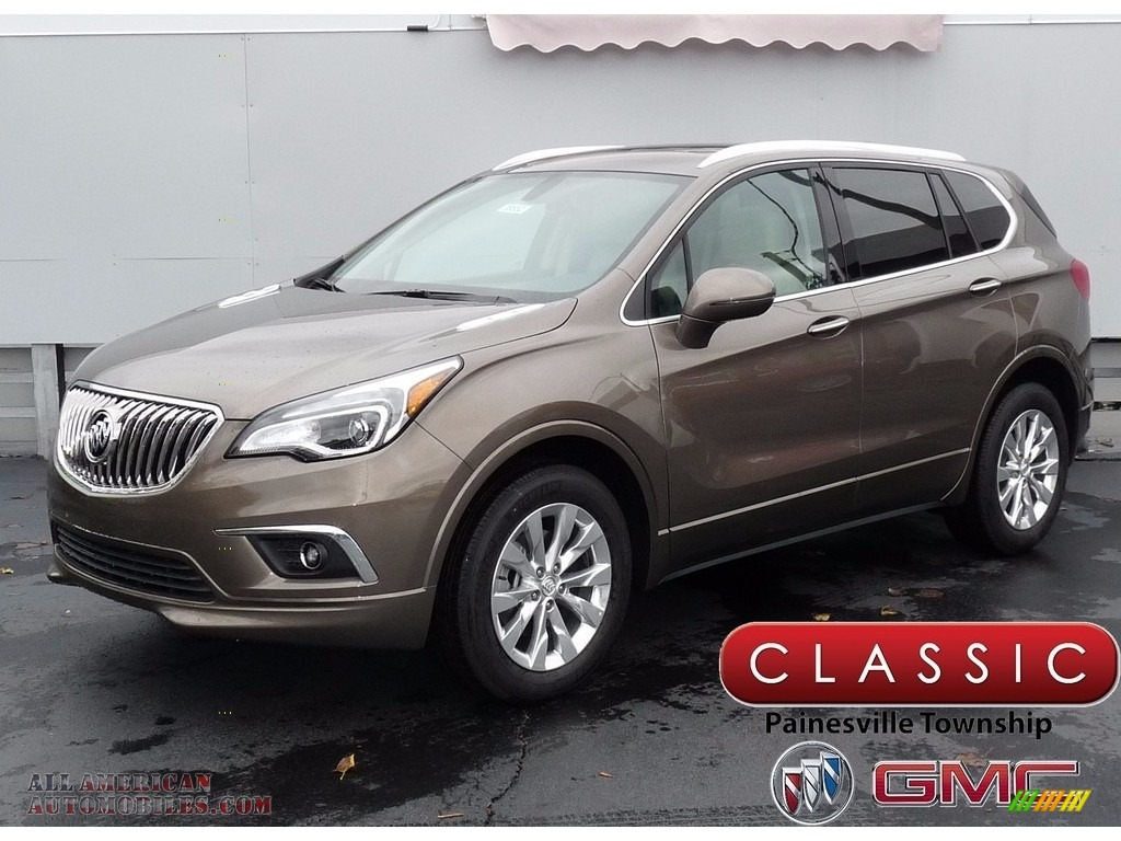 Bronze Alloy Metallic / Light Neutral Buick Envision Essence AWD