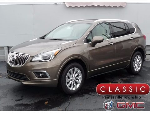 Bronze Alloy Metallic 2018 Buick Envision Essence AWD