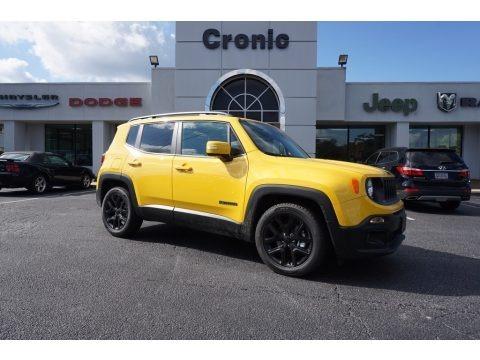 Solar Yellow 2017 Jeep Renegade Latitude