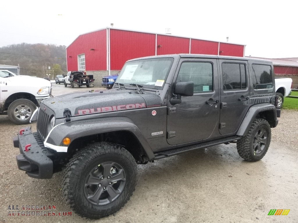 Ron Lewis Cranberry >> 2018 Jeep Wrangler Unlimited Rubicon Recon 4x4 in Granite Crystal Metallic - 810100   All ...