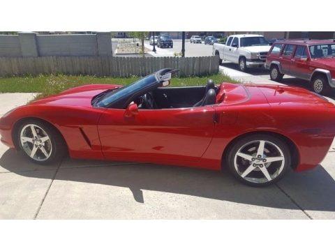 Precision Red 2005 Chevrolet Corvette Convertible