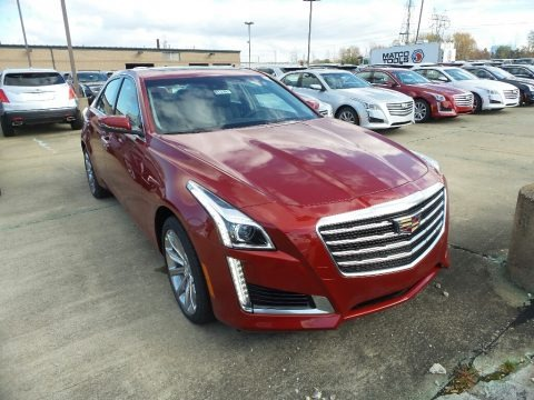 Red Obsession Tintcoat 2018 Cadillac CTS Luxury AWD