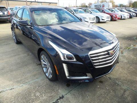 Dark Adriatic Blue Metallic 2018 Cadillac CTS Luxury AWD